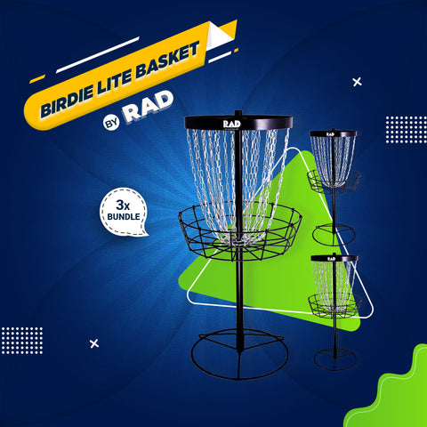 Bundle 1 - 3 RAD BIRDIE Lite Baskets