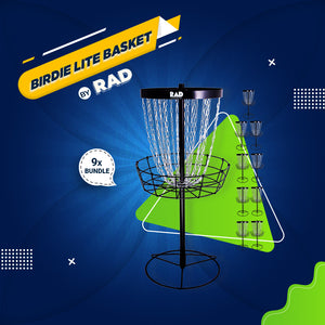 Bundle 2 - 9 RAD BIRDIE Lite Baskets