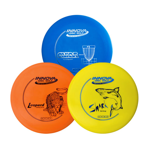 Disc Golf Beginner Premium Starter Pack