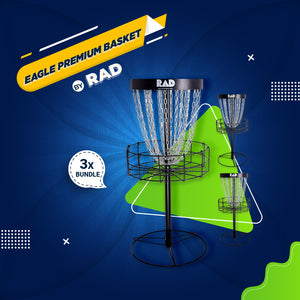 Bundle 3 - 3 RAD EAGLE Premium Basket