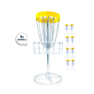 Bundle 6 - 9 Disc Golf Innova DISCatcher®️ Pro Basket by RAD