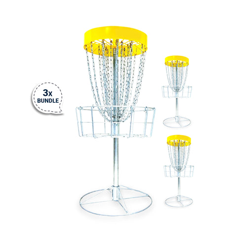Image of Bundle 5 - 3 Disc Golf Innova DISCatcher®️ Pro Basket by RAD