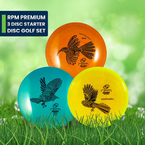 Image of RPM Premium 3 Disc Starter Disc Golf Set