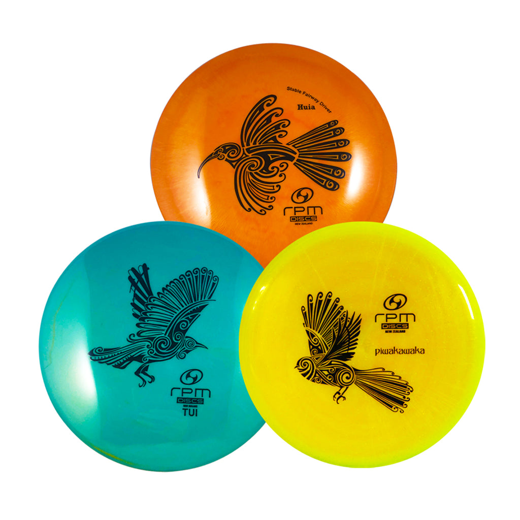 RPM Premium 3 Disc Starter Disc Golf Set