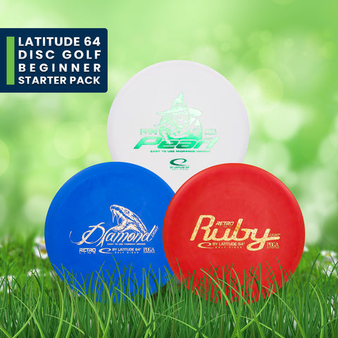 Latitude 64 Disc Golf Starter Pack