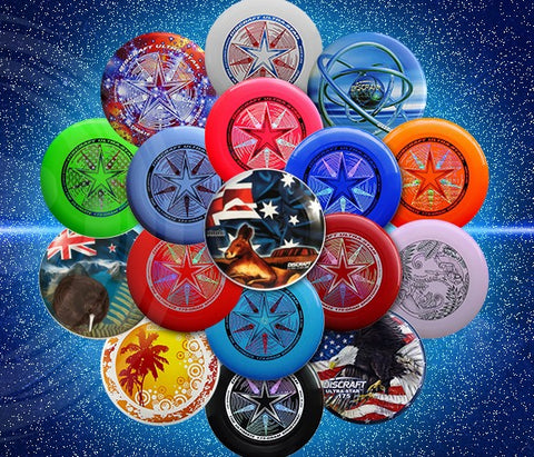 An image showing discraft ultra-star, 175 Gram Ultrastar Ultimate Frisbee in different color