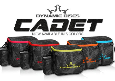 Image of An image showing Dynamic Discs Cadet Disc Golf Bag