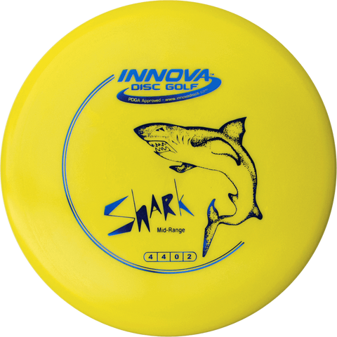 An image showing Innova Disc Golf Beginner Starter Pack, yellow in color