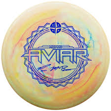Image of An image showing Innova McPro Aviar - Galactic Perfect round. A disc golf for frisbee