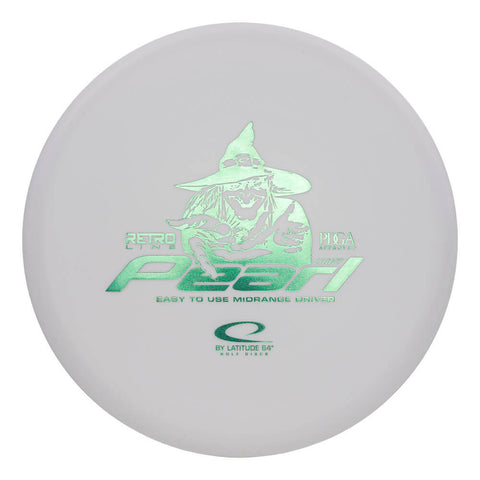 Image of An image showing Latitude 64 Disc Golf, white in color. A disc golf for frisbee
