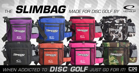 Latitude 64 Disc Golf Slim Bag
