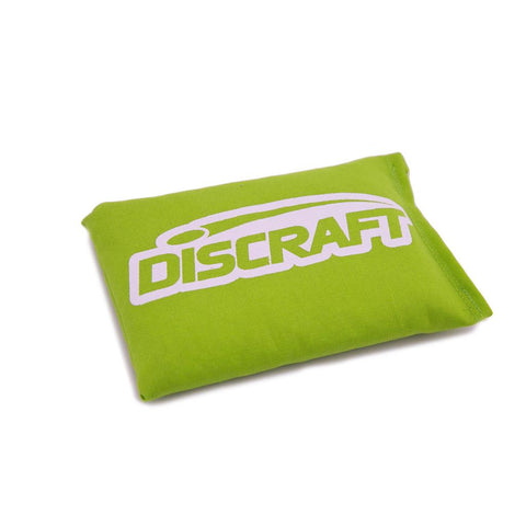 An image showing Discraft Sport Sack, yellow green in color