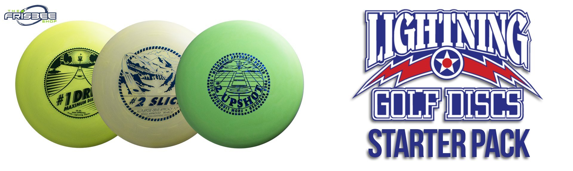 Frisbee Shop - Lightning Starter Pack