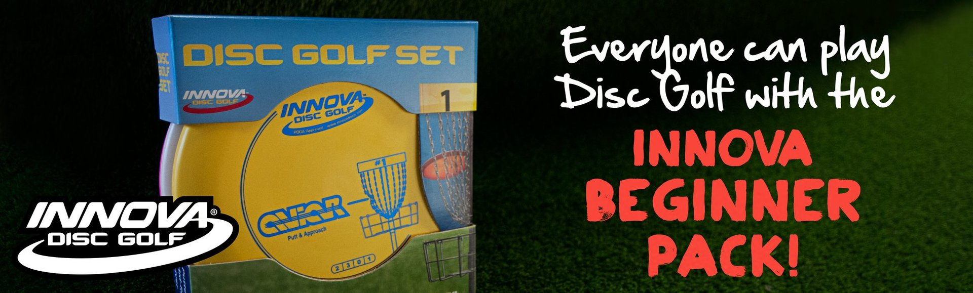 Disc Golf Innova Starter Set