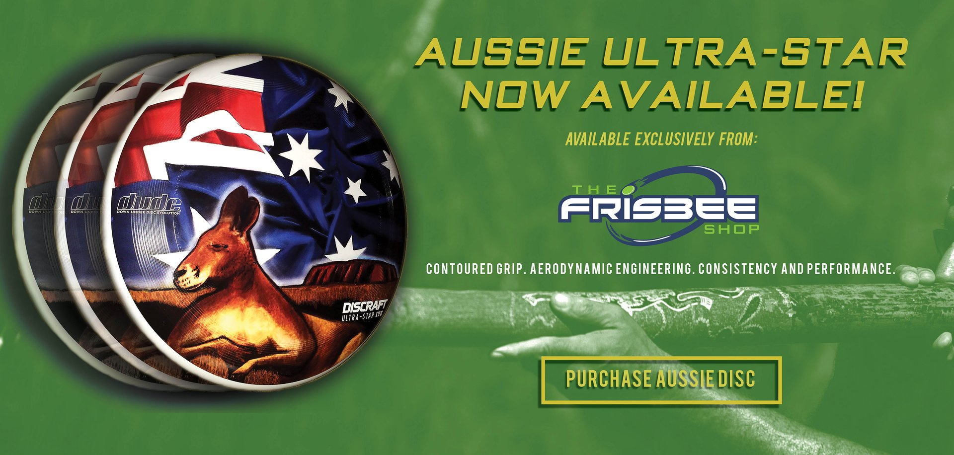 The Frisbee Shop - Aussie Ultra-Star