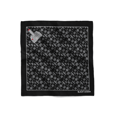 Retro Mania Pocket Square