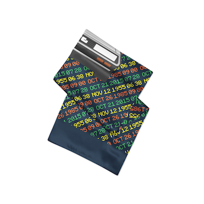 Time Traveler Pocket Square