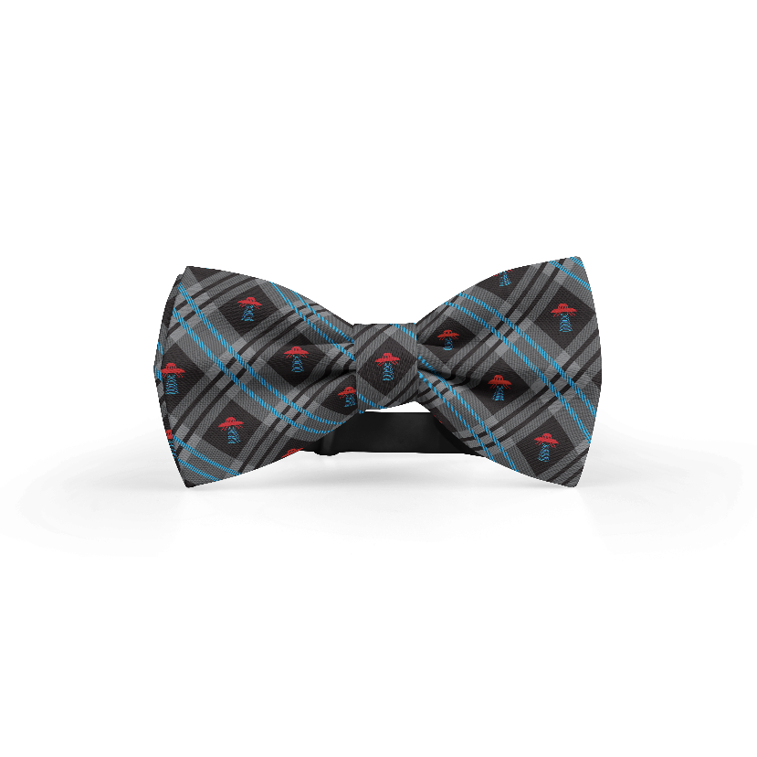 Abduction Tie + Bowtie + Pocket Square Bundle