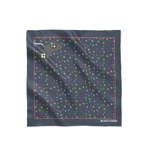 Trigger Cascade Pocket Square