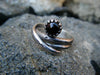 Dragon's Eye// Exquisite Garnet Designer Ring- Size 8