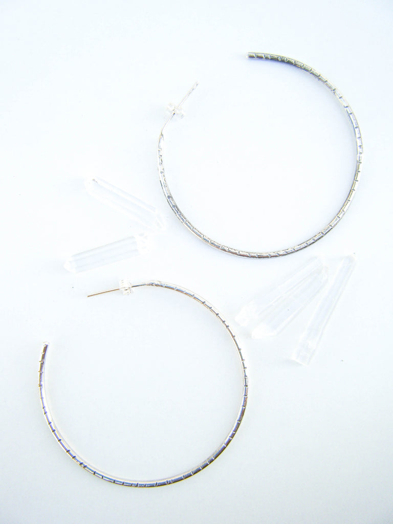 NEW! THE BELLA HOOPS // LARGE // Made to Order