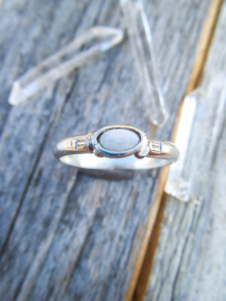 shop size stackable sterling moonstone gypsy rings in fine artisan my and rose us ring handmade store silver