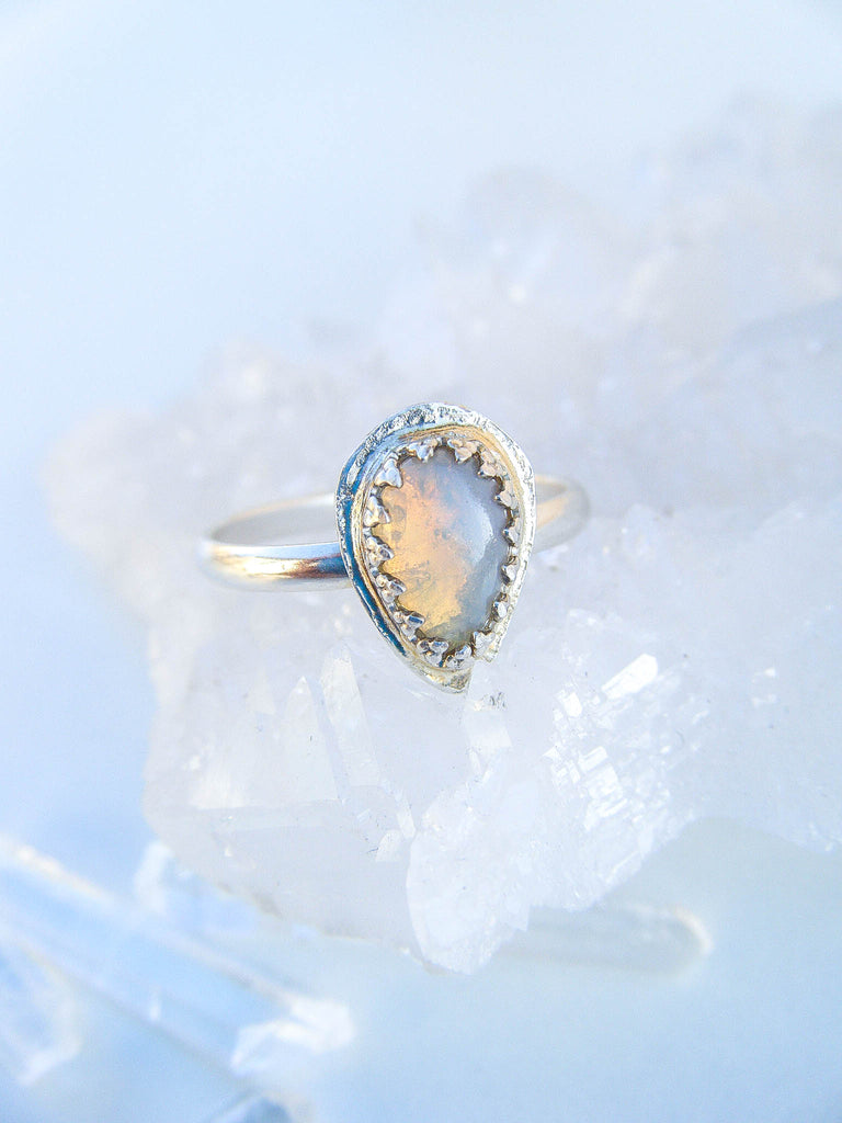 Opal Lover's Ring Size 6.5 // One Of a Kind