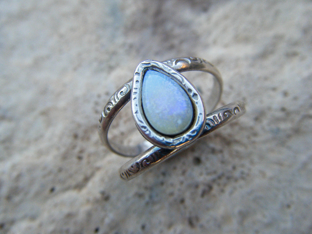*NEW* The Alchemist // Elemental Opal Sterling Silver Ring // Size 6.75