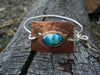 The Eagle // Southwestern Turquoise Bangle Bracelet