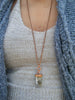 Shakti Rising// Empowering Quartz and Copper Statement Necklace