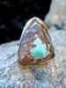 The Zivah Ring + Old Stock Royston Turquoise // Size 8