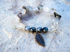 Freedom Yoga Beaded Bracelet + Garden Quartz Gemstone