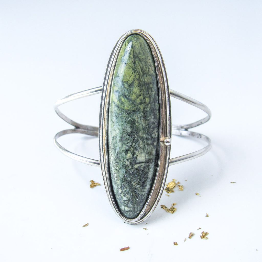 FOREST FAE + SERPENTINE CUFF BRACELET // One of a Kind!
