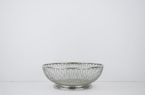 Stainless Steel Wire Bowl by Alfra Alessi