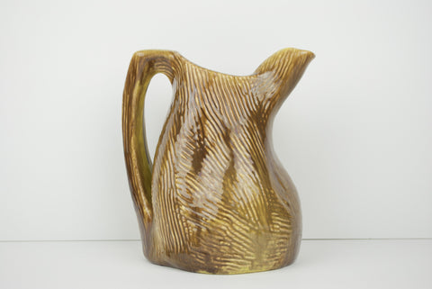 Twig and Bark Pitcher by Gonder Original