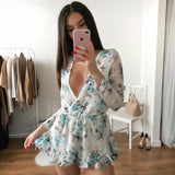 His Girl Floral Playsuit