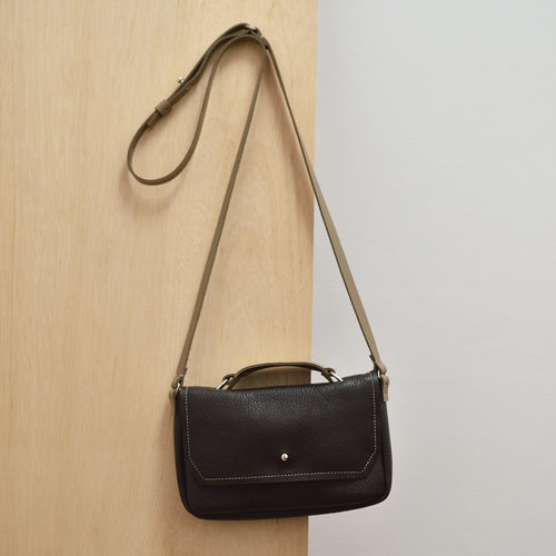 Cross Body Bag - Chocolate