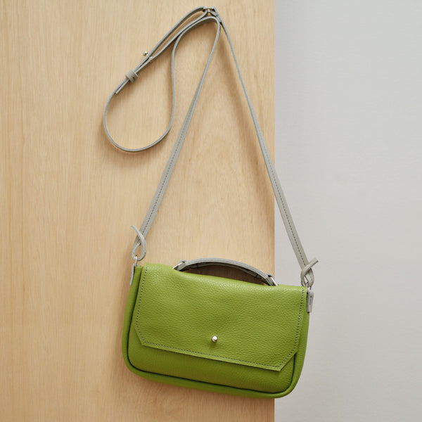 Cross Body Bag - Apple Green