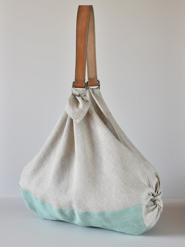 Large Linen Pouch Bag