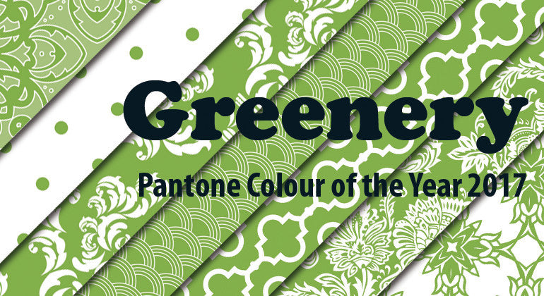 Pantone Colour of the Year 2017 Greenery Scrapbooking Papers