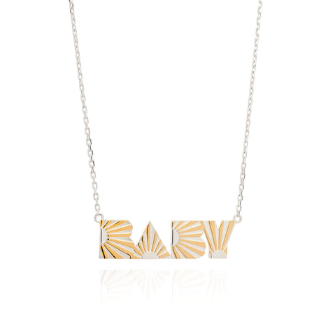 Art Deco Necklace Baby Necklace