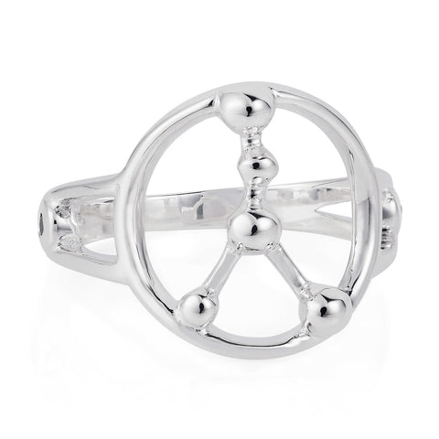 Cancer Astrology Ring