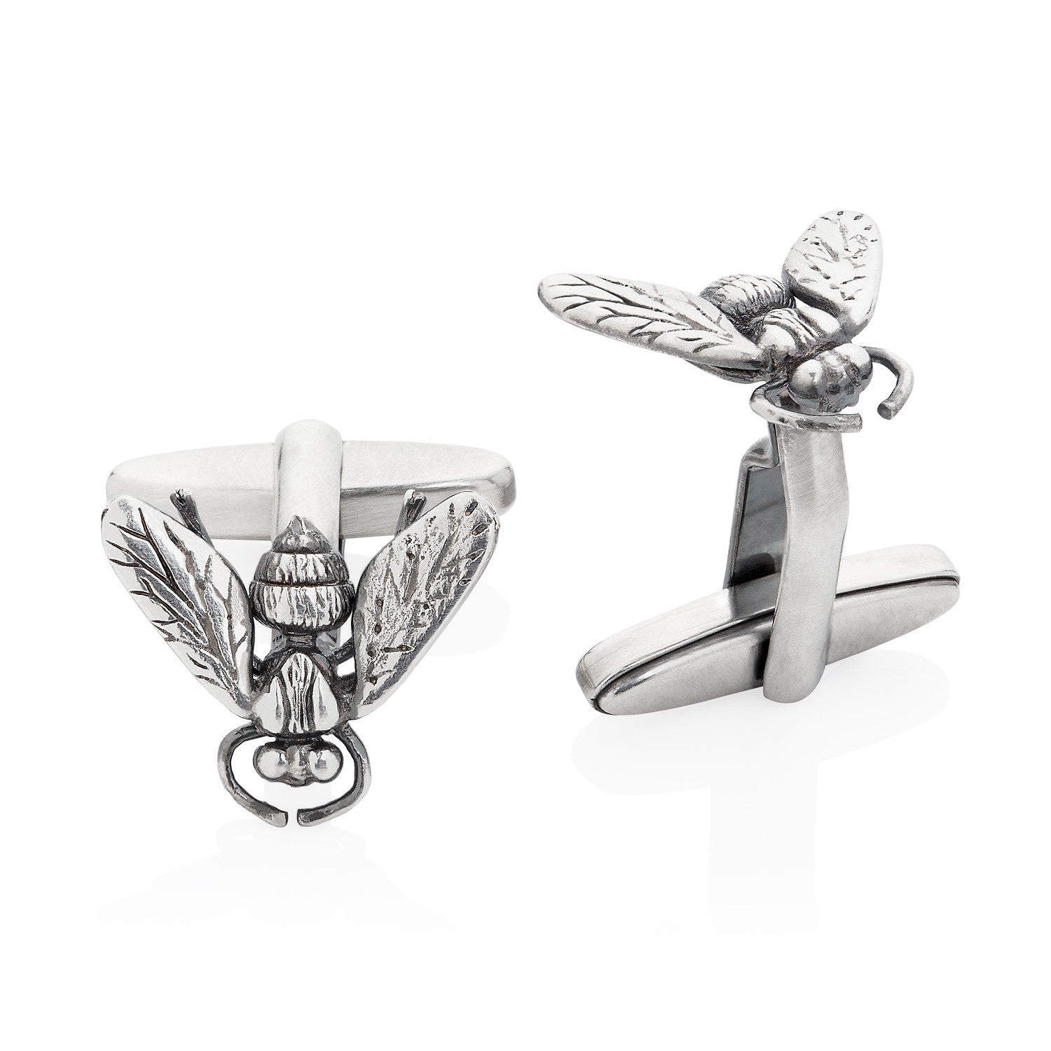 Hoverfly Cufflinks by Yasmin Everley