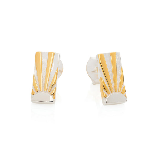 Art Deco Earrings Letter I Earrings