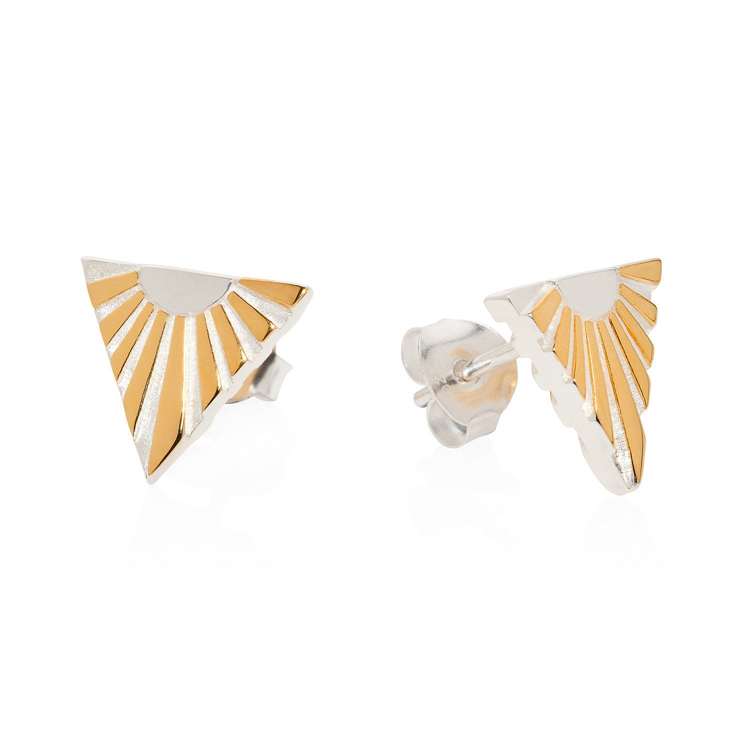 Art Deco Earring Letter V Earrings