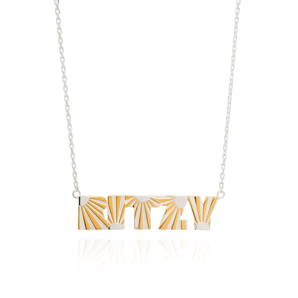 Art Deco Necklace Ritzy Necklace