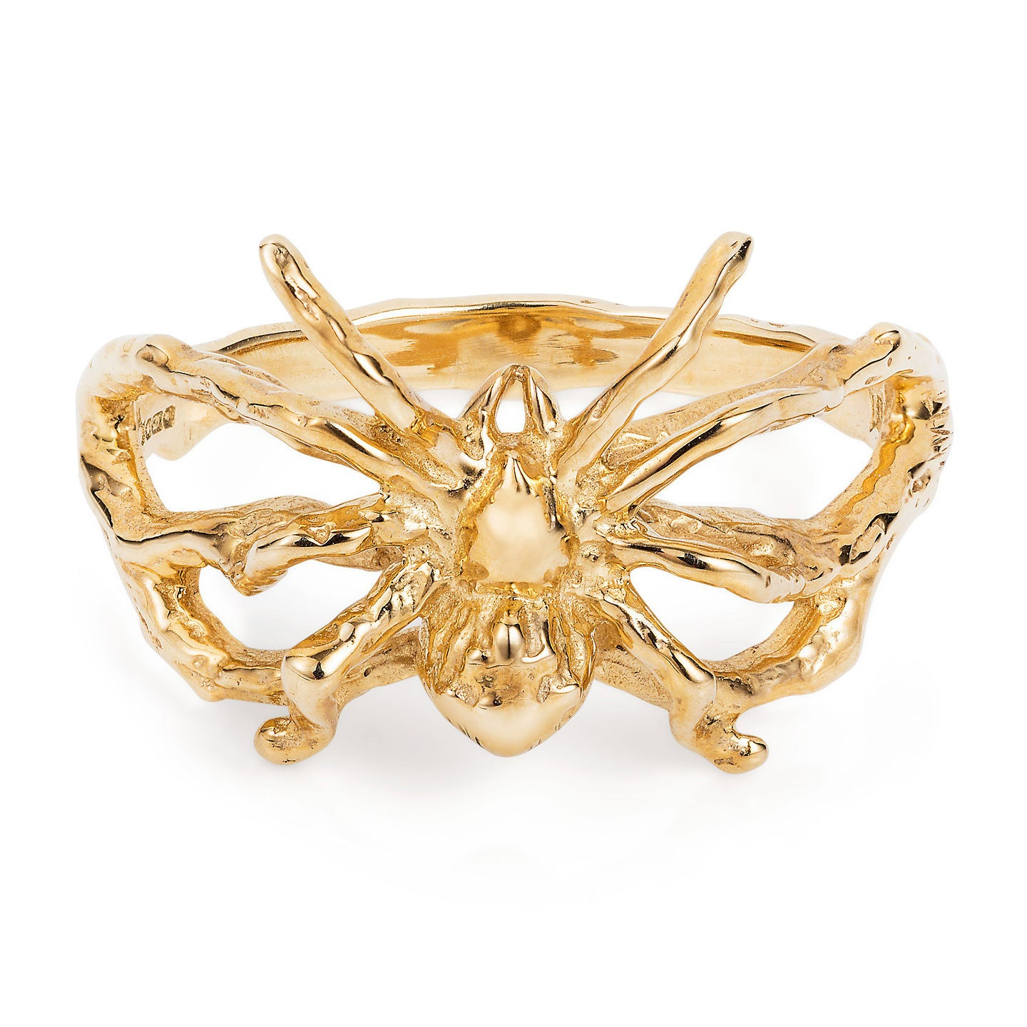 9ct Gold Little Spider Ring by Yasmin Everley