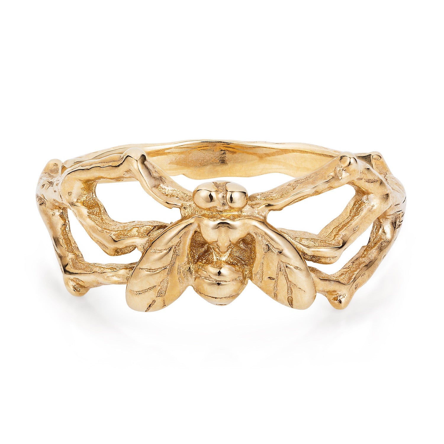 9ct Gold Little Fly Ring by Yasmin Everley