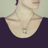 Saxony Q Initial Necklace