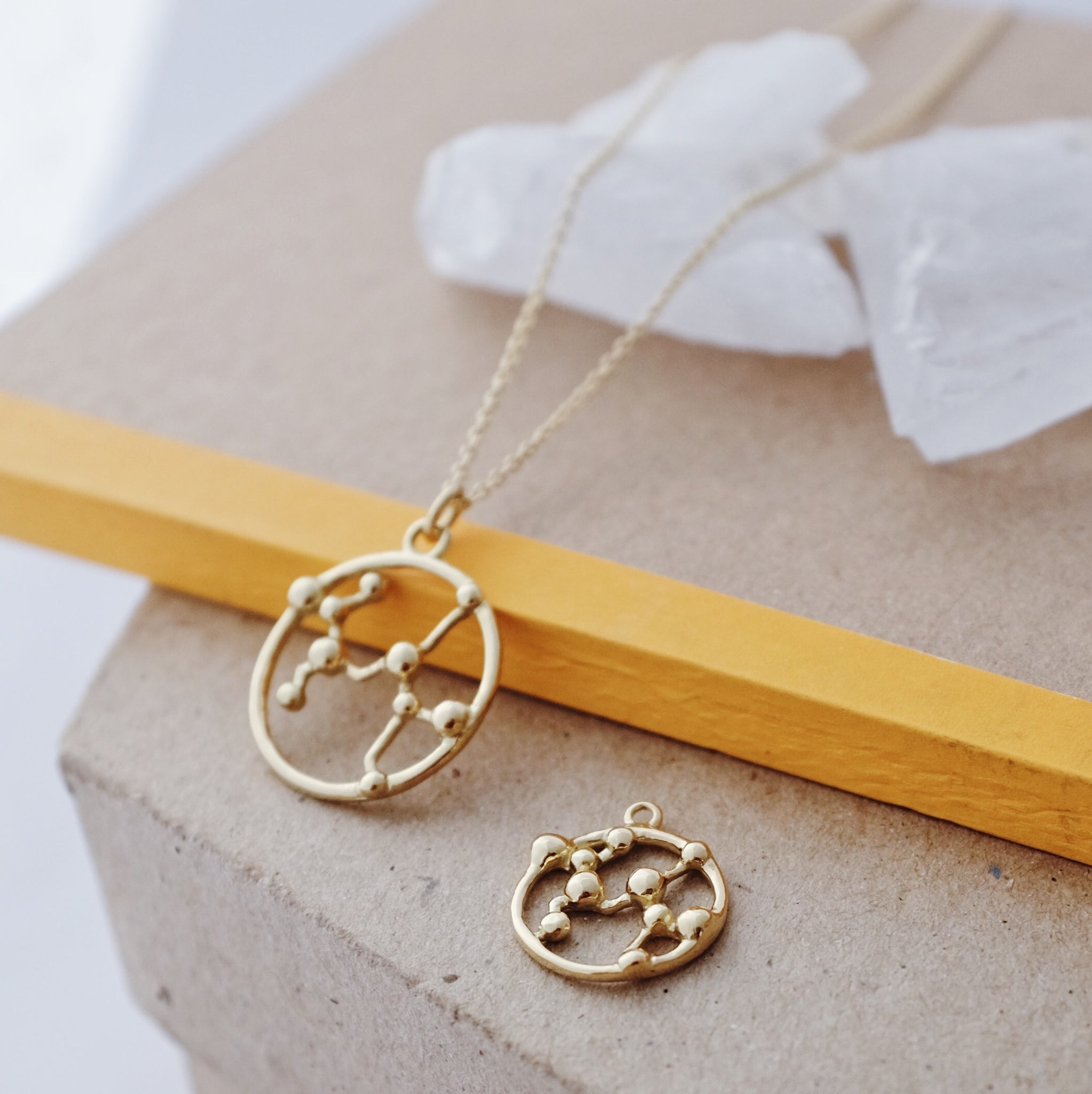 Fairtrade Gold Astrology Necklace